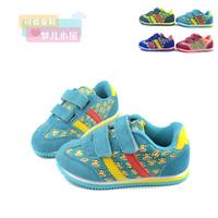 2 13 autumn new arrival child casual shoes boys shoes female child genuine leather net fabric kilen , sport shoes
