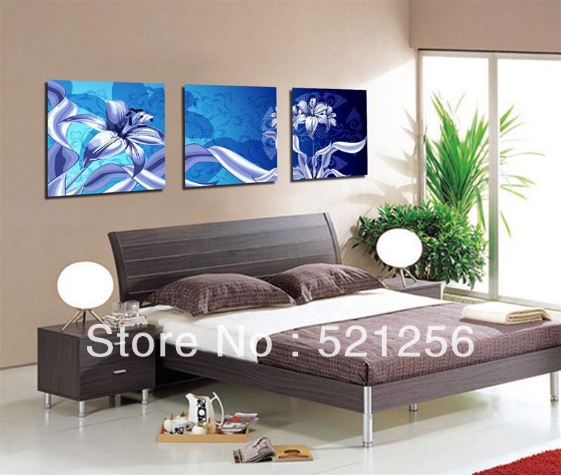 Online kopen wholesale blauwe verf woonkamer uit china blauwe verf woonkamer groothandel - Verf modern muur ...
