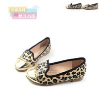 2 13 autumn leopard print princess shoes children shoes female child big baby shoes leather casual shoes