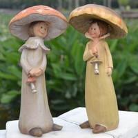 Resin decoration mushroom home decoration crafts