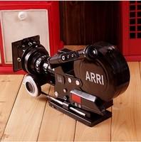 Wrought iron model wedding dress photo props old camera antique camera film machine vintage