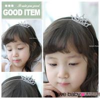 Child hair accessory hair accessory child hair bands headband bling rhinestone sweet cute hair pin