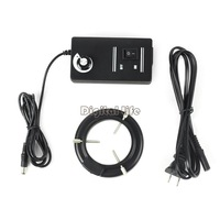 New 60-LED Adjustable Ring Light Illuminator Lamp For STEREO ZOOM Microscope US Plug TK1033