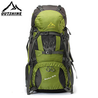 Oort outshine outdoor mountaineering bag backpack male Women travel backpack