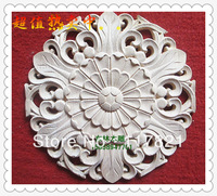 China Dongyang wood carving wood furniture door stickers flowers Motif Home Decor y-30-2