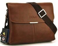 Promotion brand fashion men's leather briefcase leather bags for men messenger bag leather shoulder bag wholesale FREE SHIPPIN