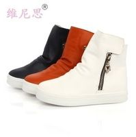 Child winter female martin boots winter child snow boots child boots round toe