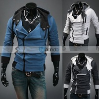 Free delivery of 2013 new styles Men's Autumn and winter cardigan Korean men's Hoodie Jacket