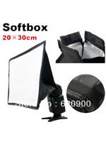 100% GUARANTEE 20 x 30cm SoftBox for Canon 430EX 580EX FOR Nikon SB600 SB800 Flash Speedlite
