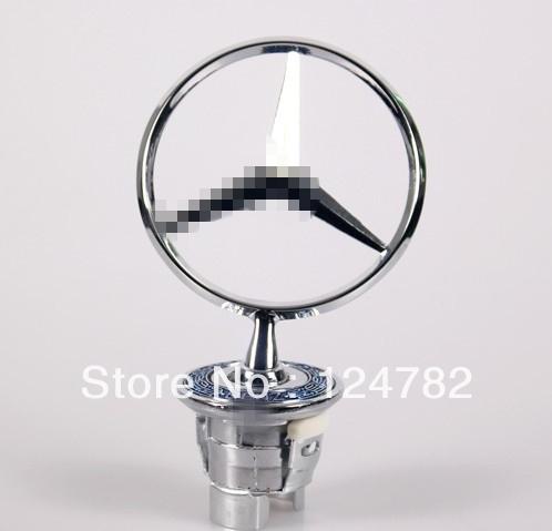 Free Shipping 210 W210 For Mercedes Benz Bonnet Hood Star Emblem Badge W202 W204 W22