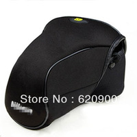 100% GUARANTEE  M SIZE  Neoprene Soft Camera Case Bag For Nikon D5100 D5200 D3200 D3100 D3000 D60 D40