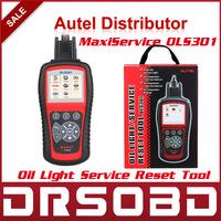 Original Oil Light Service Reset Tool Autel MaxiService OLS301 INSP Interval OLS 301 Erase Scanner Free Internet Update