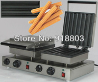 Free Shipping to USA/Canada/Japan Doulbe-Head 110v Electric Churros Maker Machine