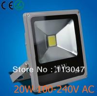10X 20w led flood light Ip65 AC100-240V for solar light system outdoor led lights Warm(3000k)/Pure White(6000k) 2 years warranty