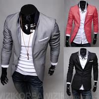 2012 Autumn New Fashion Style Free Shipping Blazer Men Slim Top design Black suit Blazers Fashion Coat Jacket  PX17