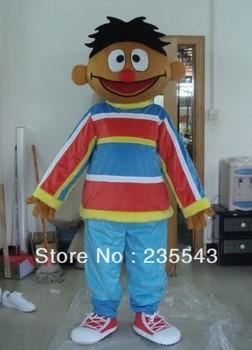 Adult Sesame Street Ernie mascot costume for sale
