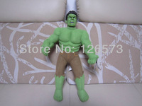 45cm plush toys justice league the avengers the hulk plush hulk one piece free shipping