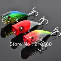 Trulinoya DW06 67mm/11g Quality Plastic Popper fishing lures fishing hard bait