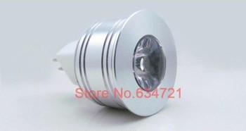 1W 3W Led Celling Spotlight DC12V MR11 MR16  Alumium Lamp White Warm White Colorfull,free Shipping
