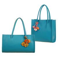 Women's handbag  candy color small flower vintage handbag