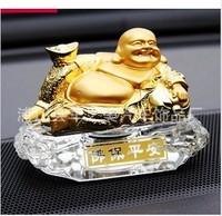 2013 maitreya buddha car perfume seat crystal perfume seat decoration auto supplies