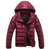 2013 New autumn and winter men's brand down jacket, male thickening down sport jacket ,good quality 90% duck down outwear coat