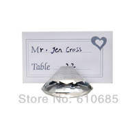 Wedding Supplies Creative Crystal Wedding Banquet Table Clamp Bride And Groom Business Card Seat Guests Seats Card
