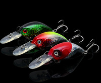 Trulinoya DW10 76mm/8.5g Quality Plastic Crank fishing lures fishing hard bait