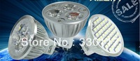 Hot Wholesale 10pcs/Lot LED MR16 Warm/Cold White Spot Light Bulbs Bright