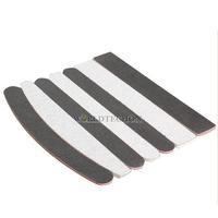 W7Tn Practical 7pcs Nail Polisher Plastic Nail Polishing File Buffing Sandpaper Sanding