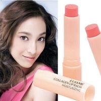free shipping 10pcs Elssme collagen lip balm moisturizing lip balm moisturizing lipstick