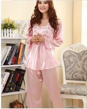 Satin pajamas sets sexy
