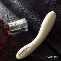 Authentic American SVAKOM department WoKang Leslie automatic heating g-spot massage stick waterproof rechargeable mute female