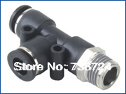 PD12-04  tube size 12mm  thread 1/2 ,,pneumatic air fittings,quick connect tube fitting