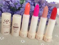 free shippiing 10pcs Make-up baby lip balm skin 802 hsm light color lipstick 12