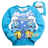 """6pcs / 1 lot "" recreational sports T-shirt children clothing cartoon elf boy and girl clothes for children"