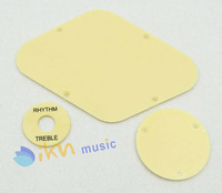 1 set Ivory Cavity & Switch Plate and Switch Selector Plate for LP Style Guitar