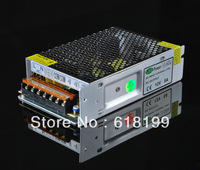 Free shipping (30pieces/lot)110v/220vac 100% metal case type 12V5A Non-waterproof type led driver 60w switching power supply