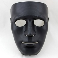 Free shipping 1pcs/lot Hip-hop horror 2013 Halloween Thick black face mask