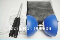 3Colors One New Chinese YO YO 3 Bearing Diabolo Set Metal Sticks Blue Red Yellow String bag