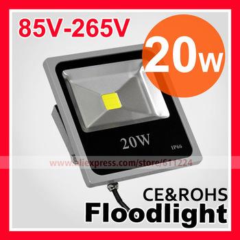 Free Shipping 10W 20W 30W 50W 70W 100W LED Flood Light IP66 Waterproof 85-265V High Power Outdoor RGB Changeable Floodlight Lamp