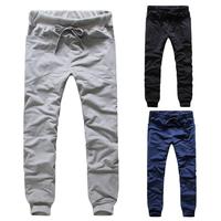 Free Shipping men's sports pants slim fit leisure trousers for men 3 colors M-XXL Ck43