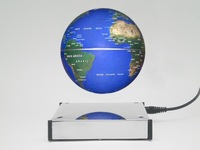 Free shipping Three-dimensional magnetic levitation globe magic 4 gift business gift seniority gift