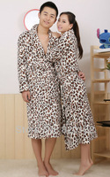 Drop/Free Shipping Good Quality Women Pajamas Costume Sleeping Jumpsuits Flannel Robe Winter Bathrobes Men Women Nightwear