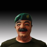 free shipping 1pcs/lot Saddam face mask - Halloween Celebrities latex mask party mask festival mask performances