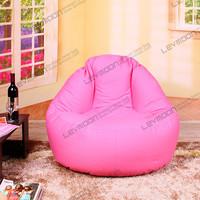 FREE SHIPPINGpink bean bag chair bean bag couch 100CM diameter pink bean bags 100% cotton canvas pink bean bag store