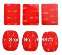 3M VHB Adhesive Sticky for Gopro hero hero2 hero3 suptig helmet Mount Red 3M sticker Set
