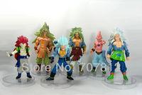 6x Dragon Ball Z GT Action Figure Japanese Anime Figures Toys 15CM PVC 6PCS/SET Free Shipping