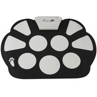 Portable Musical Instrument Electronic 9 Pad Roll-Up Drum Kit
