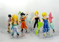 6x Dragon Ball Z GT Action Figure Japanese Anime Figures Toys 13CM PVC 6PCS/SET Free Shipping